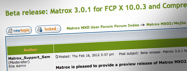 Matrox_beta_drivers_fcpx