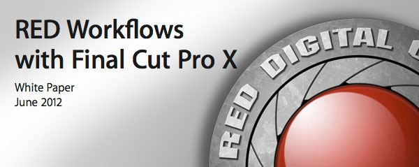 red workflow fcpx