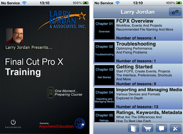 larry jordan iphone ipad app 3