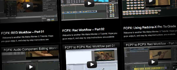 we make movies fcpx tutorials