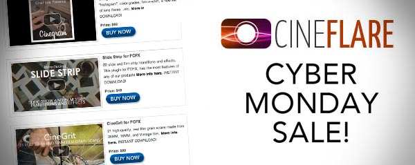 cineflare cyber monday