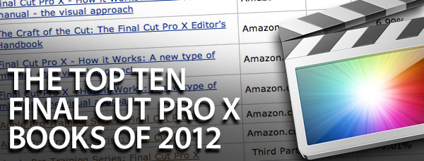 top ten fcpx books 2012