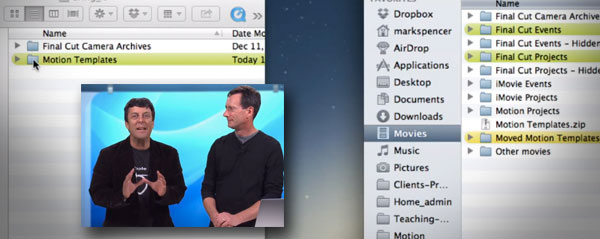 macbreak Managing motion files