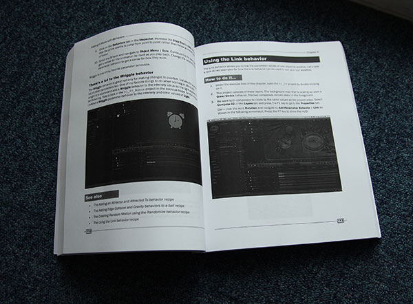 motion cookbook dark page