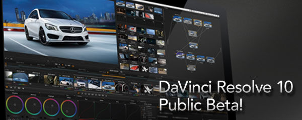 davinci resolve 10 beta