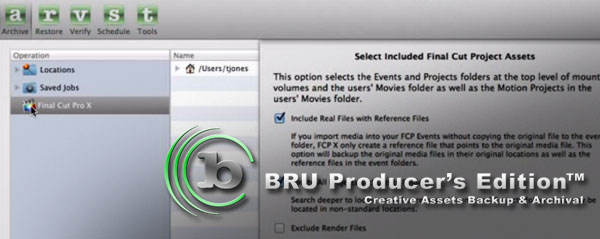 bru producers edition fcpx