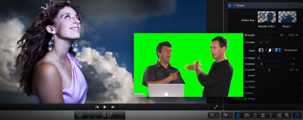 good green screen in final cut pro