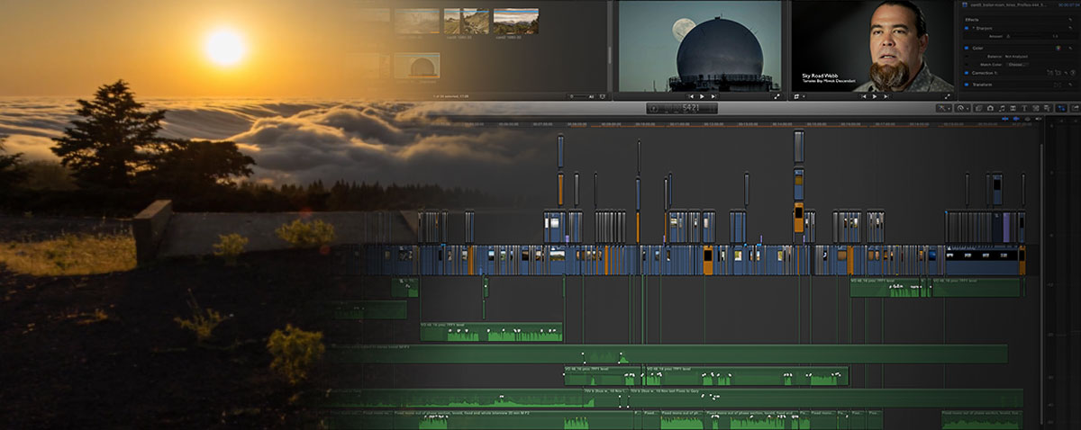 invisible peak fcpx