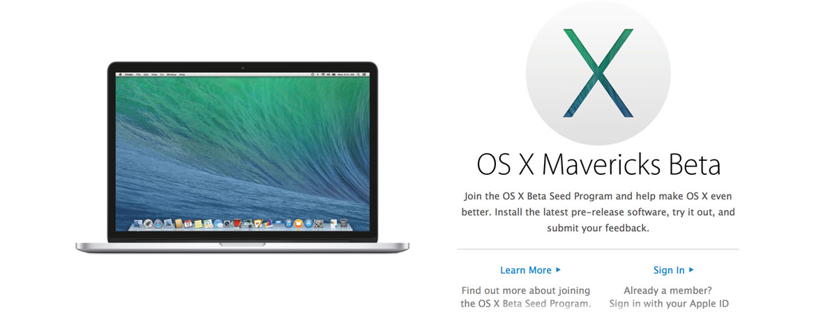 mavericks beta
