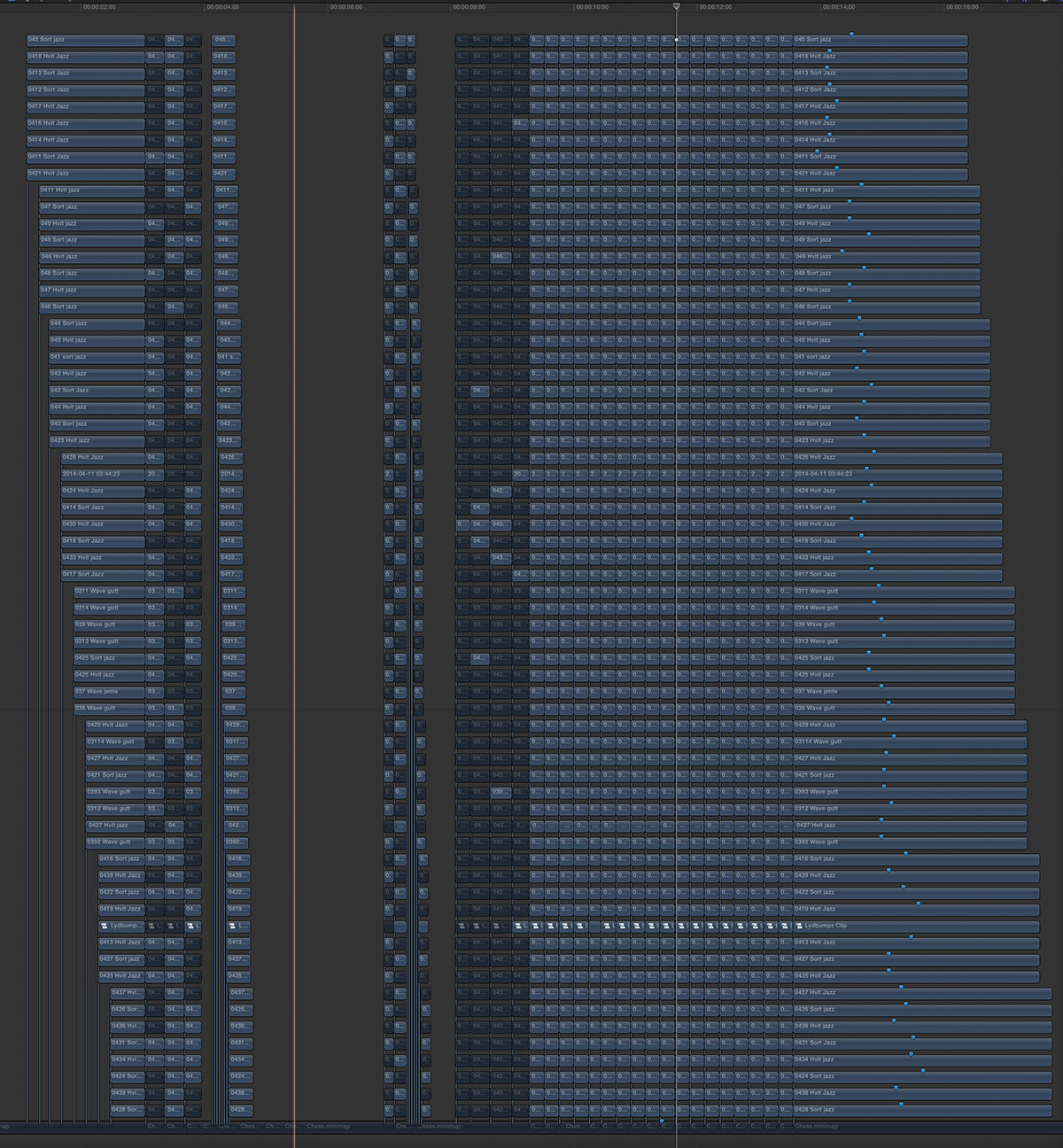 64 layer timeline small