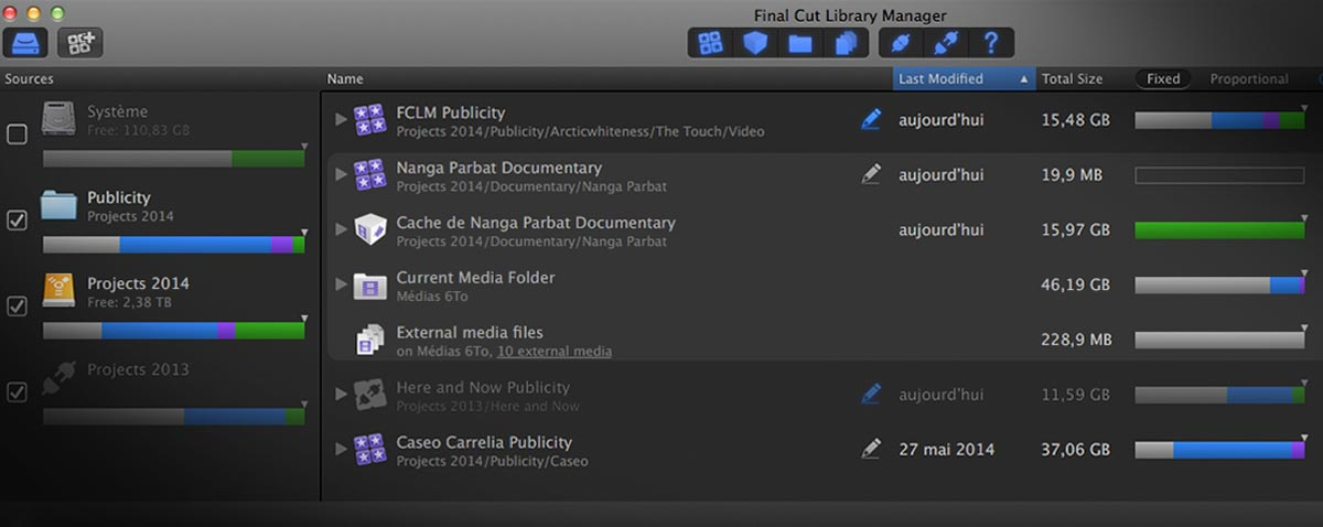 FCLM 2.50 fcpx