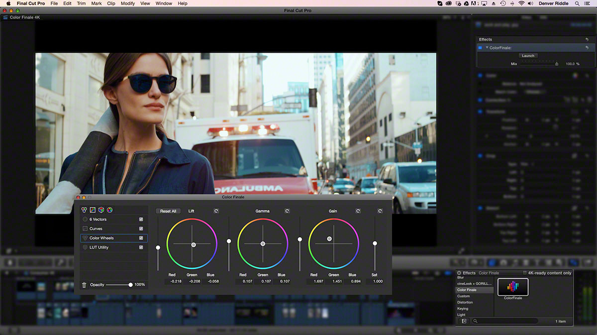 FEATURED Interface FCPX