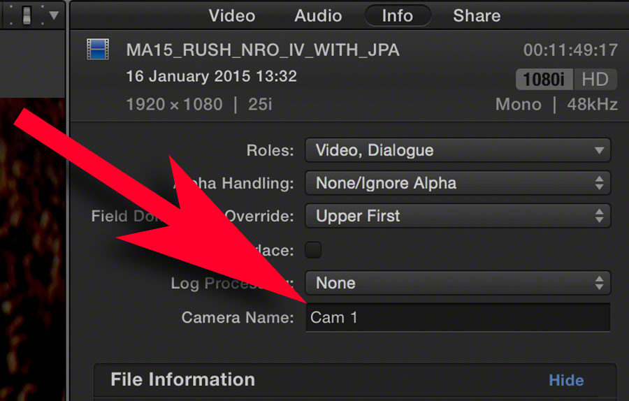 FCPX multicam 10 top tips 3