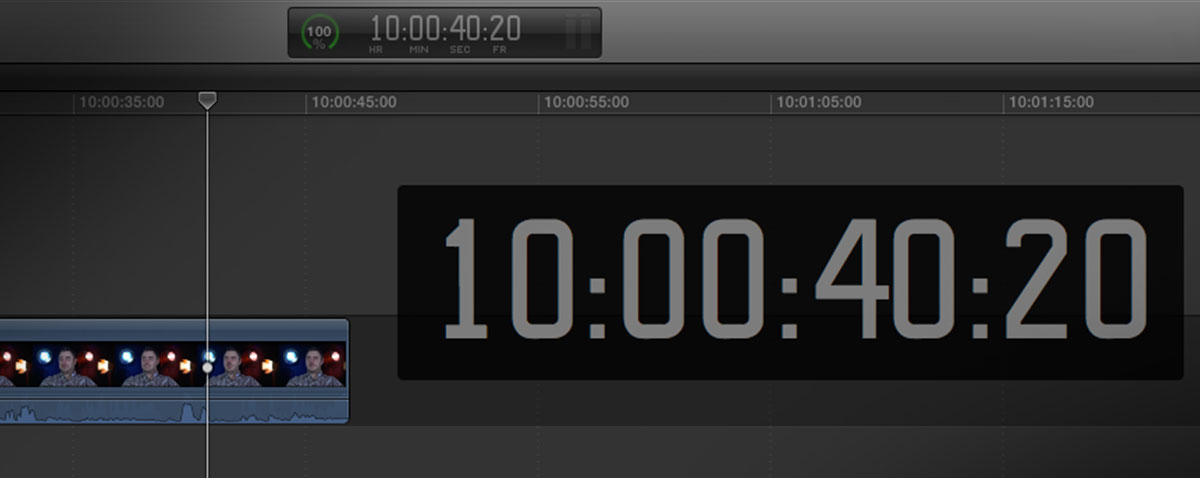 timecode fcpx fx factory