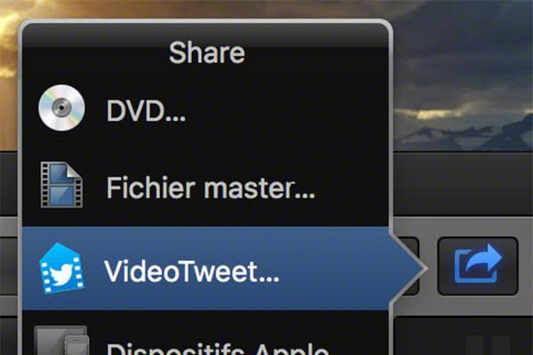 tweet video upload FCPX