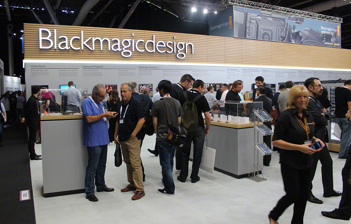 IBC2016 blackmagic