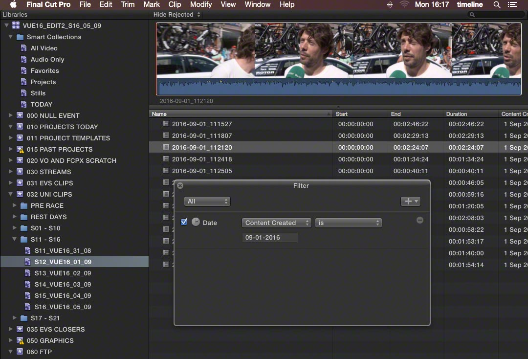 events time sensitive 2 fcpx