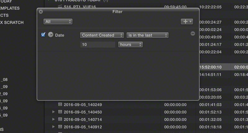 events time sensitive 3 fcpx