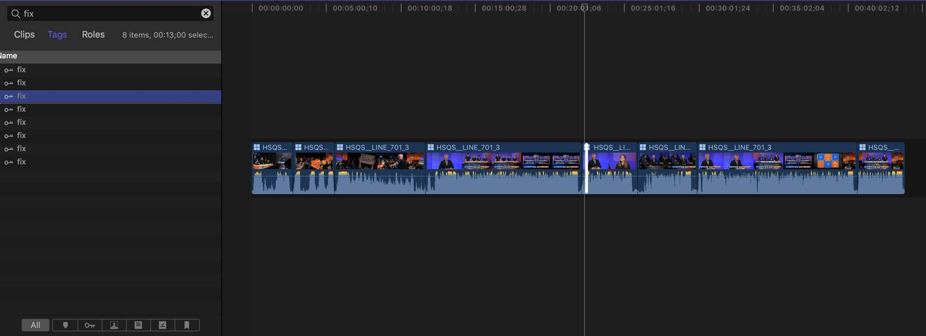 FCPX Quiz Show 22