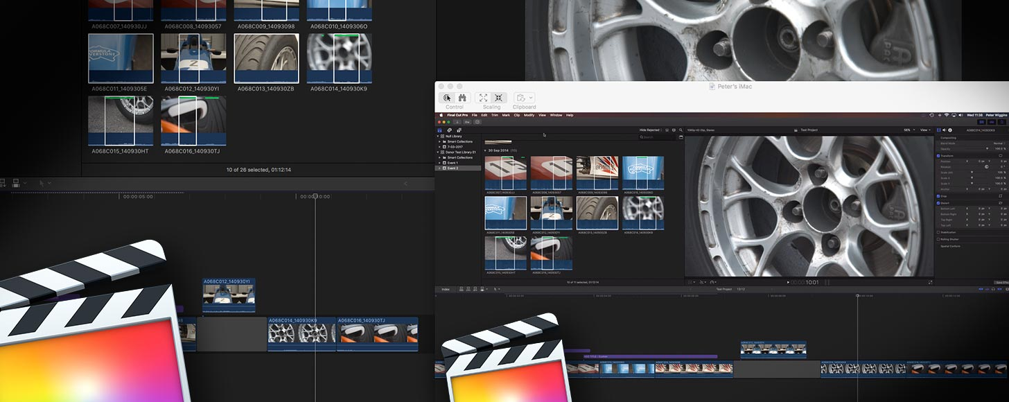Collaborative Workflow with Final Cut Pro X - First Working Steps