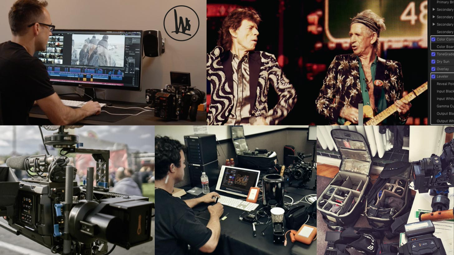 James Tonkin Tours with the Biggest Music Artists on the Planet, Creating Stunning Concert Videos from Tons of 4K and 8K Footage in Final Cut Pro X