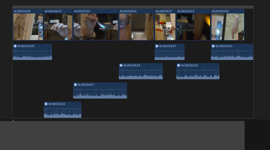 fcpx staircase issue