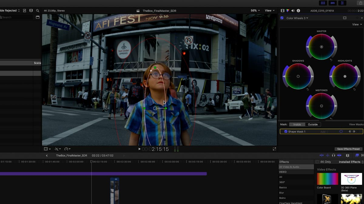 Apple Short Film Project FCPX 01