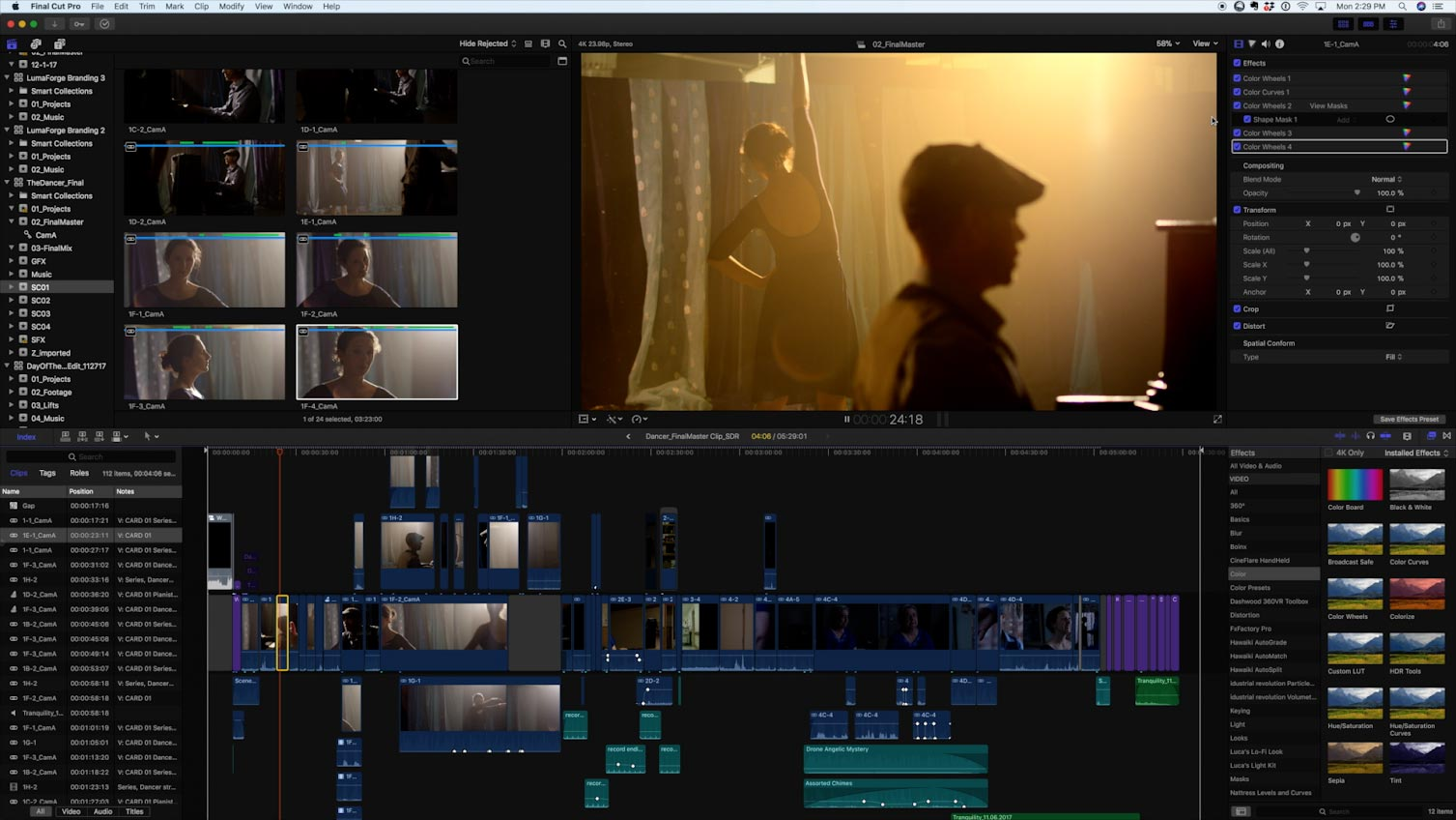 Apple Short Film Project FCPX 05
