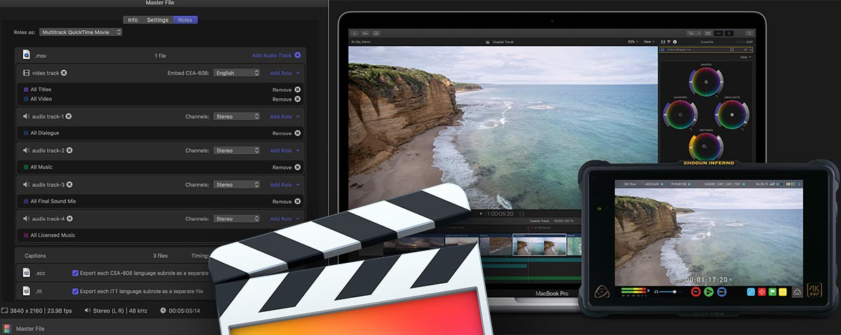 Apple Release Final Cut Pro X 10.4.1, Motion 5.4.1 and Compressor 4.4.1