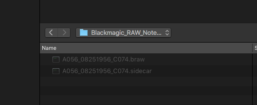 blackmagic raw fcpx