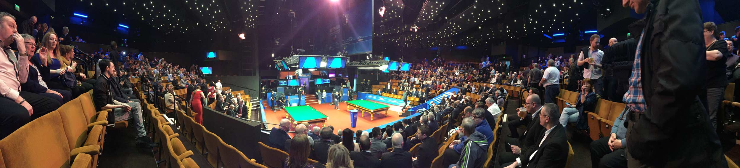 BBC snooker the crucible