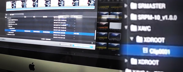 XAVC Import intoFCPX
