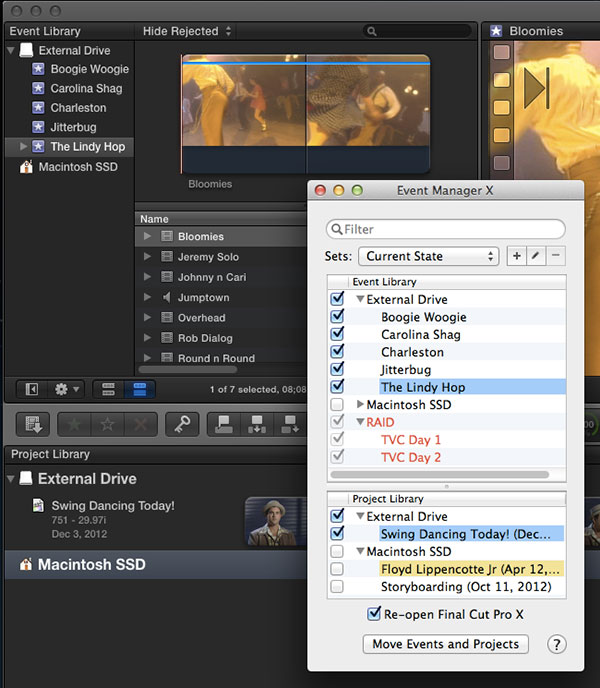 event manager 1.2 FCPX 2