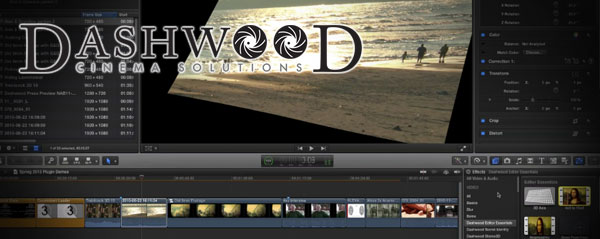 dashwood essentials fcpx
