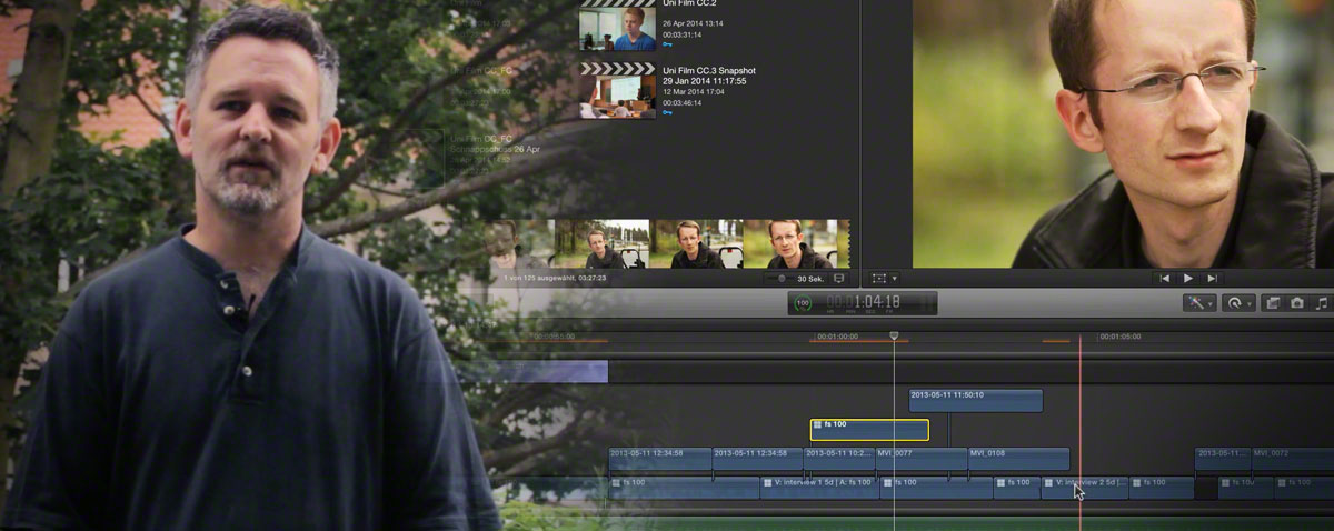 VOD FCPX tutorial german