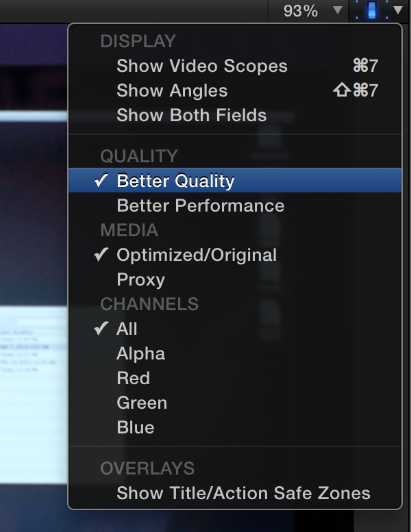 top ten fcpx pressure better quality