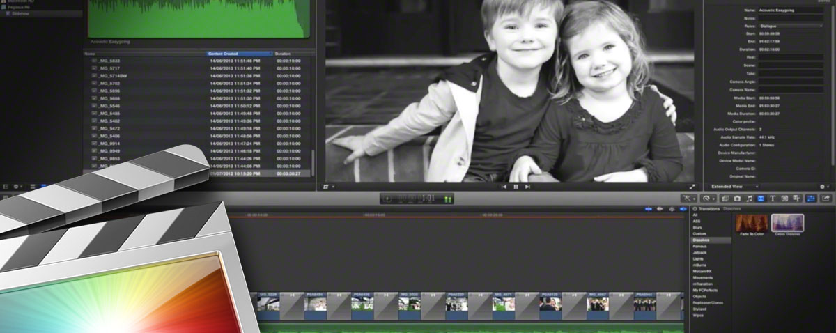 quick fcpx slideshow