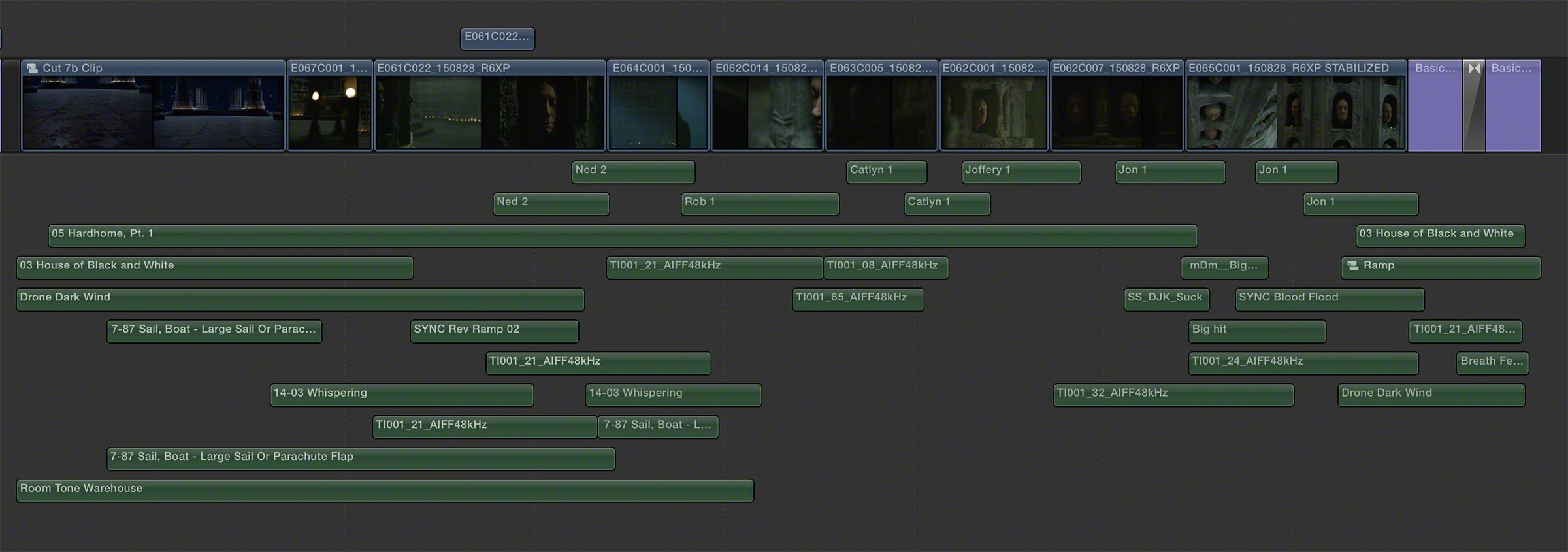 Game of Thrones Timeline FCPX